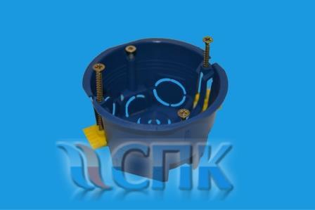 Установочная коробка для крепления в гипсокартон